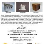 """Exposición """"Cases per guardar secrets""""  6 Septiembre – 9 Octubre 2016"""